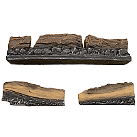 Ceramic Log Assembly - Flueless Stove